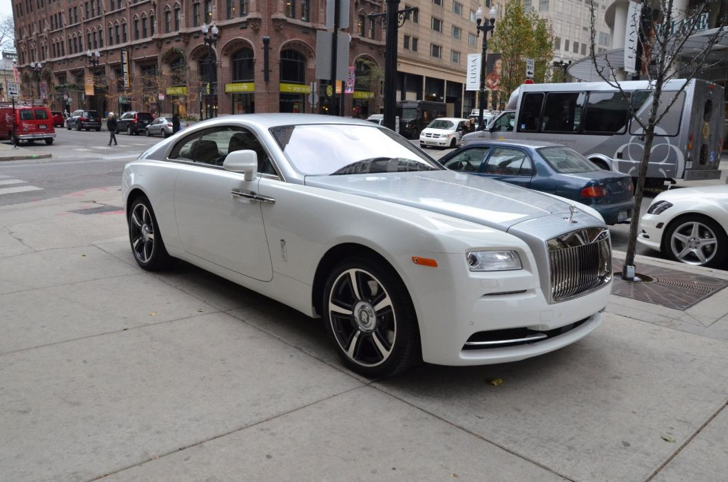2015 Rolls Royce Wraith Coupe Cars White Wallpaper