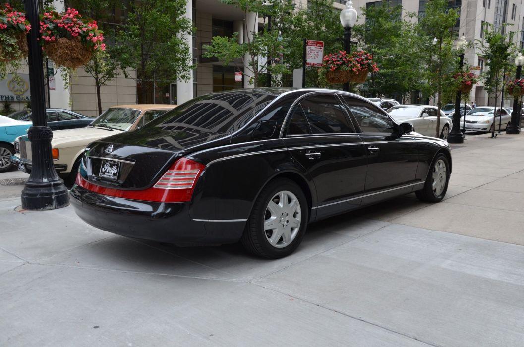 2008 Maybach-57 cars luxury wallpaper