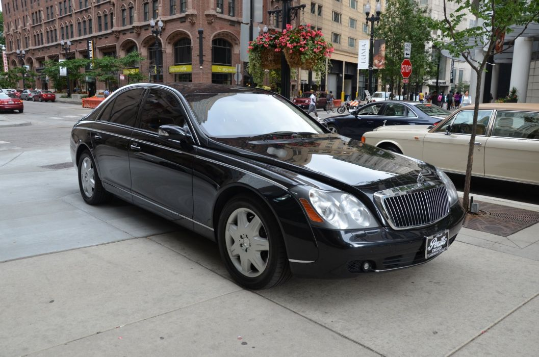 2008 Maybach-57 cars luxury wallpaper