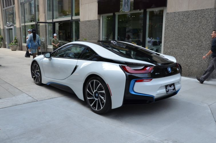 2014 BMW-i8 cars coupe electric wallpaper