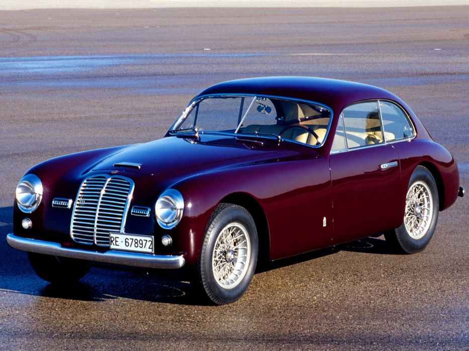 Maserati-A6 1500-GT coupe cars classic 1946 wallpaper