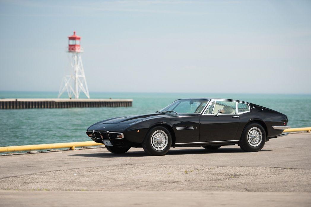 Maserati Ghibli-SS US-spec coupe cars classic 1970 wallpaper