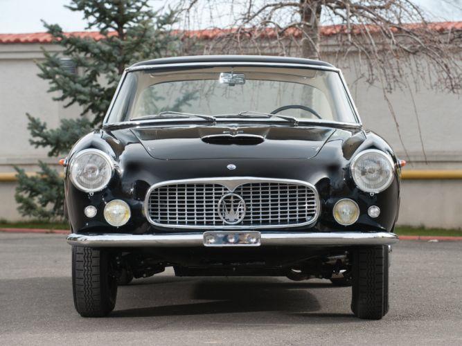 Maserati 3500-GT cars classic 1958 wallpaper