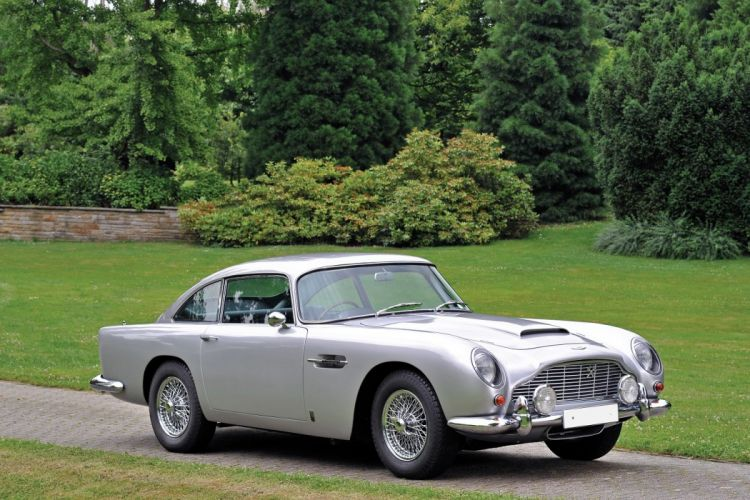 Aston Martin DB5 Vantage UK-spec coupe cars classic 1964 wallpaper