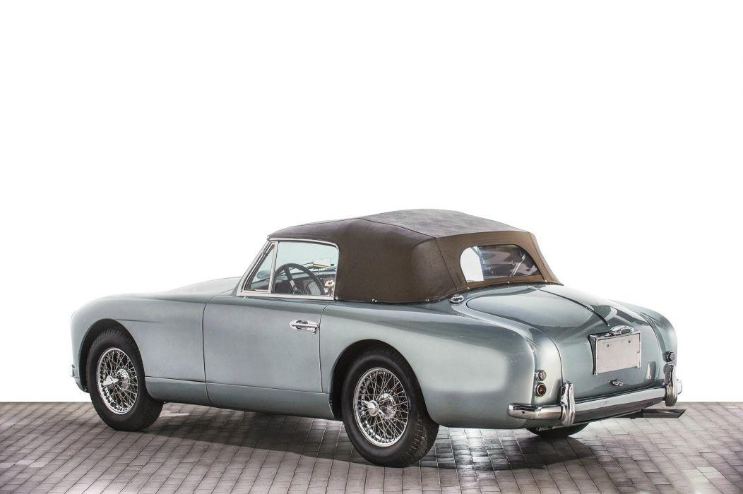 Aston Martin DB2-4 Drophead cars classic Coupe 1951 wallpaper