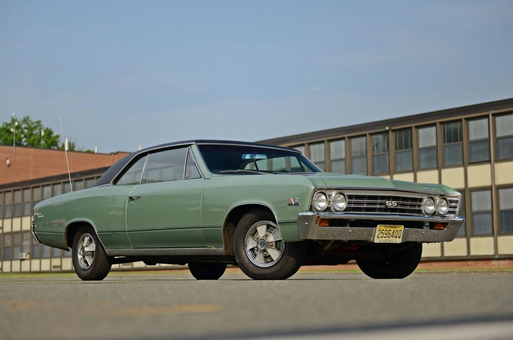 1967 Chevrolet Chevelle SS-396 cars classic usa wallpaper