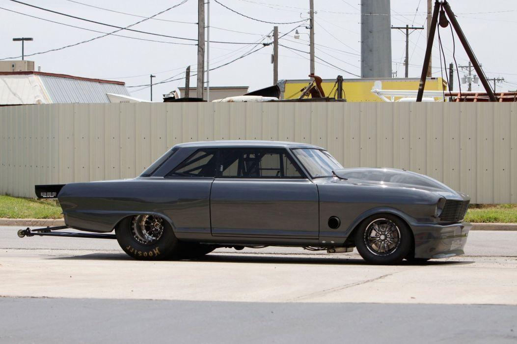 1963 chevrolet nova cars dragster wallpaper