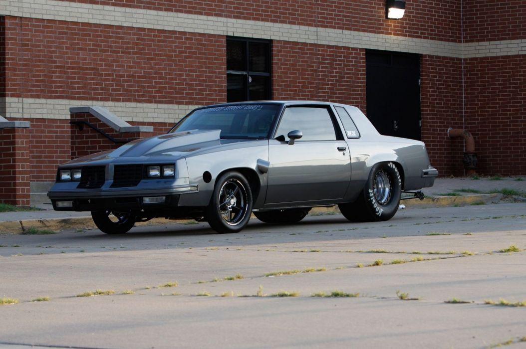 1984 oldsmobile cutlass cars drag wallpaper