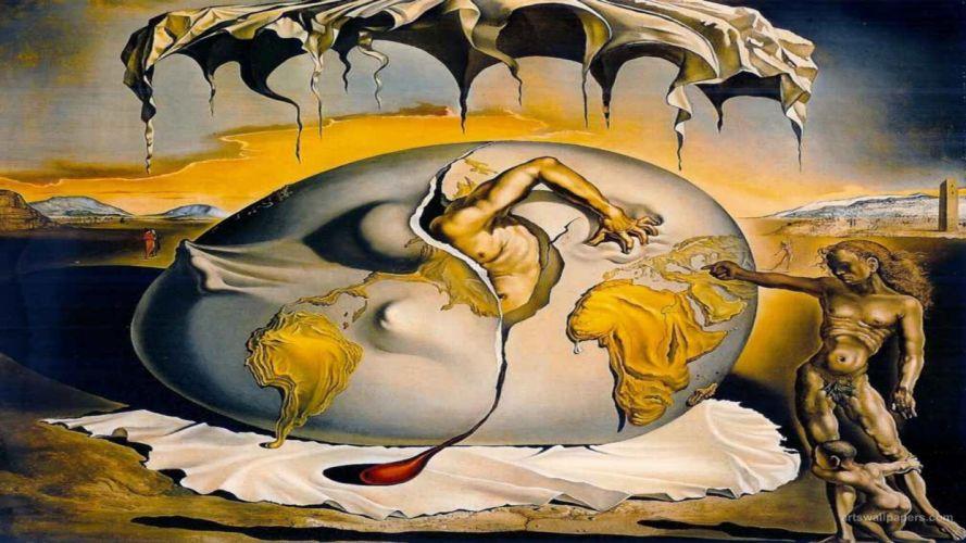 surrealismo arte dali wallpaper