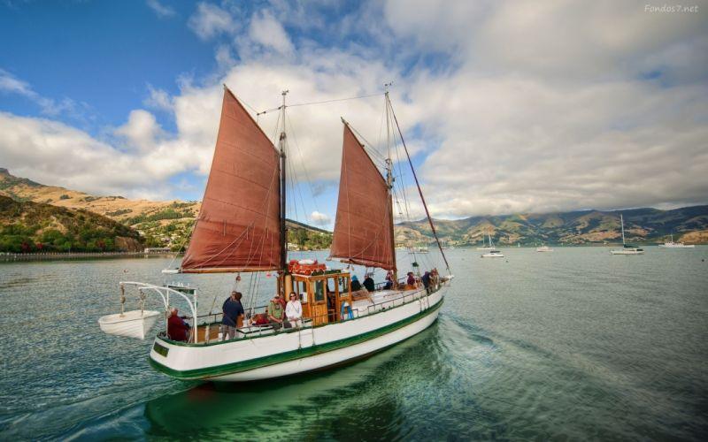 barcoo velero mar wallpaper