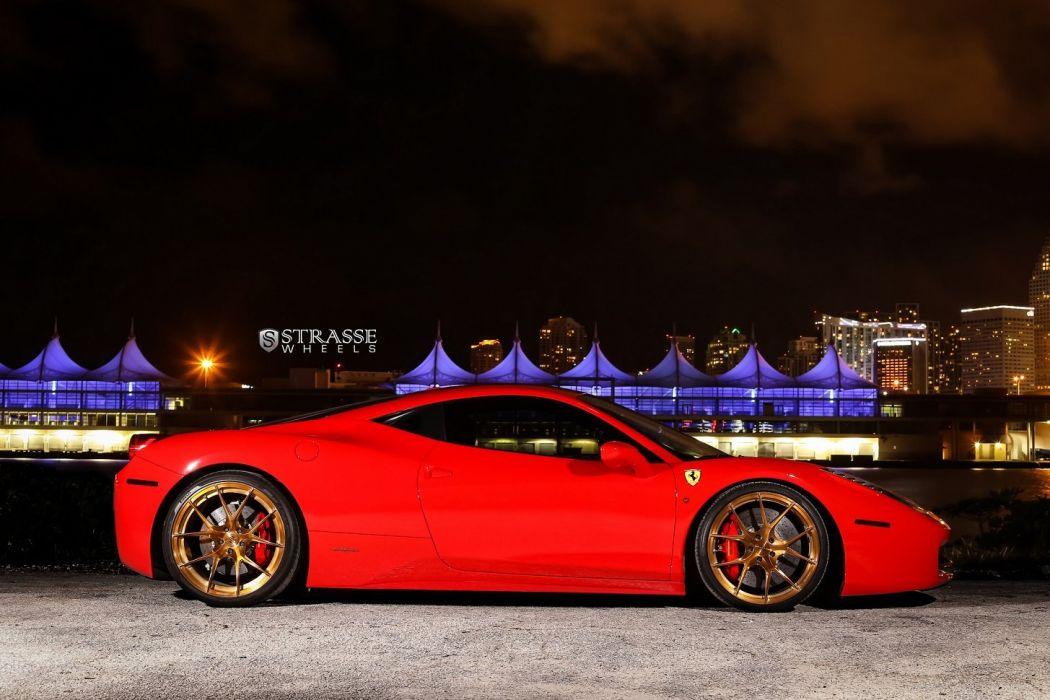 Ferrari 458 Italia cars Strasse Wheels chevrolet wallpaper