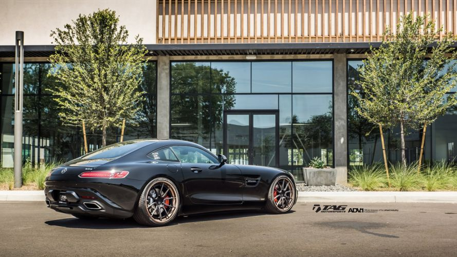 ADV 1 WHEELS GALLERY MERCEDES AMG-GT coupe cars wallpaper