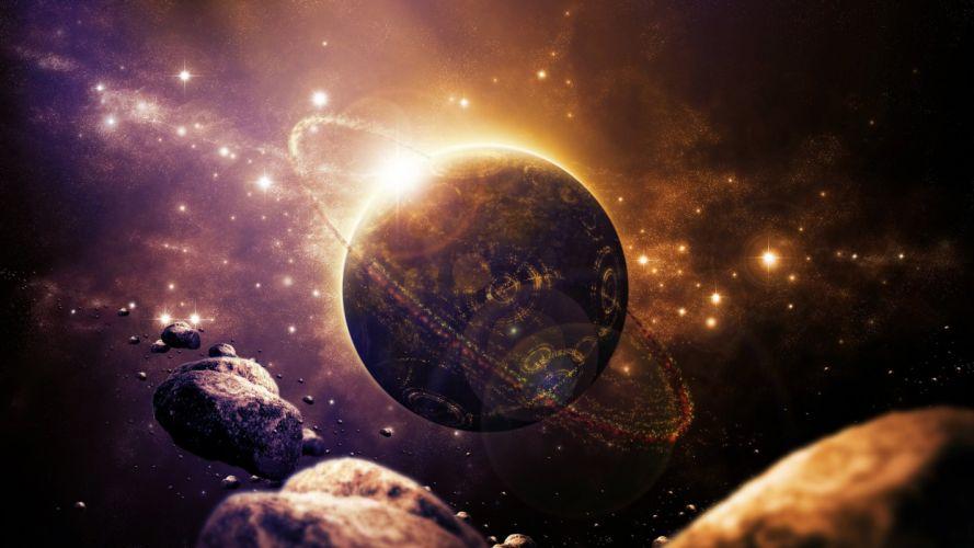 planetas universo wallpaper
