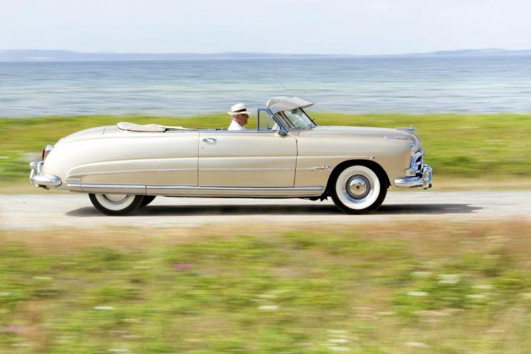 Hudson Hornet Brougham Convertible cars classic wallpaper