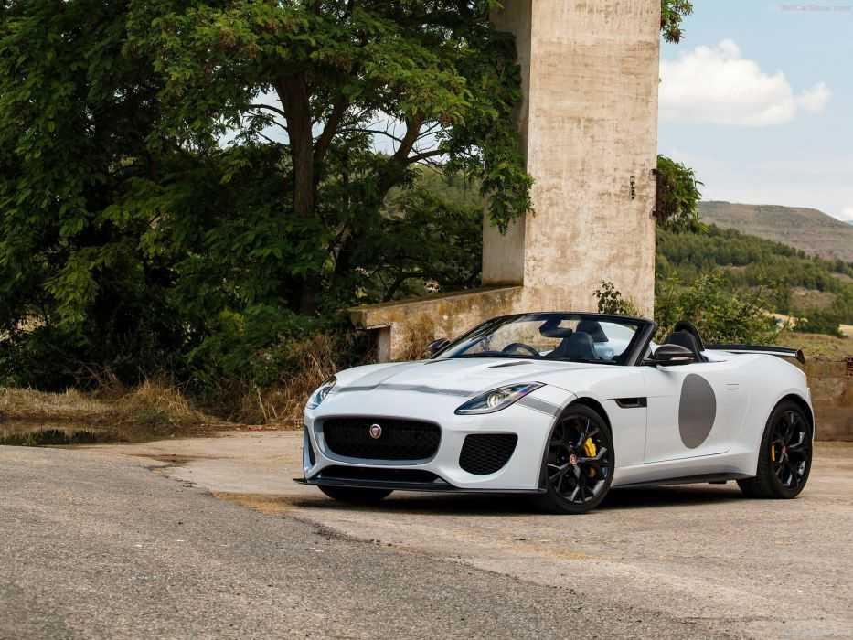 2015 Jaguar F-Type Project-7 cars wallpaper