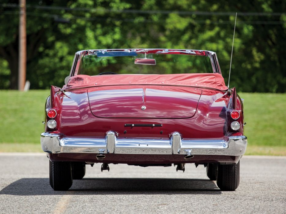 Dual-Ghia Convertible cars classic 1958 wallpaper