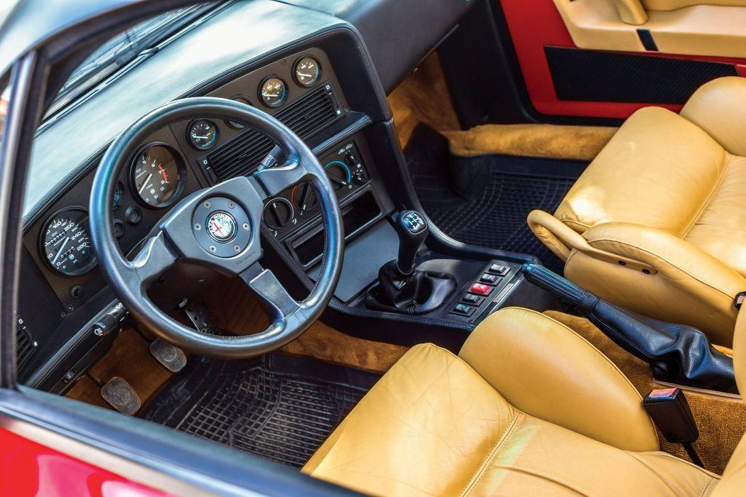 Alfa Romeo S Z coupe cars 1989 wallpaper