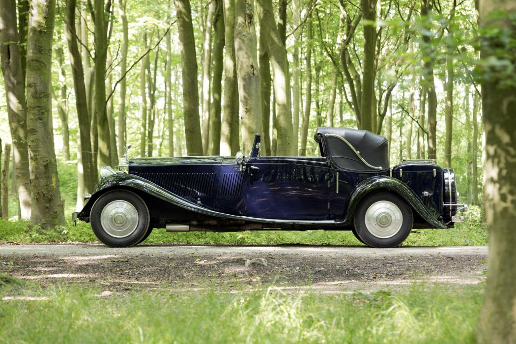 Rolls-Royce Phantom II Continental Sedanca Coupe Gurney Nutting cars classic cars 1933 wallpaper