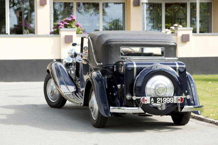 Rolls-Royce Phantom II Continental Sedanca Coupe Gurney Nutting cars classic cars 1933 wallpaper