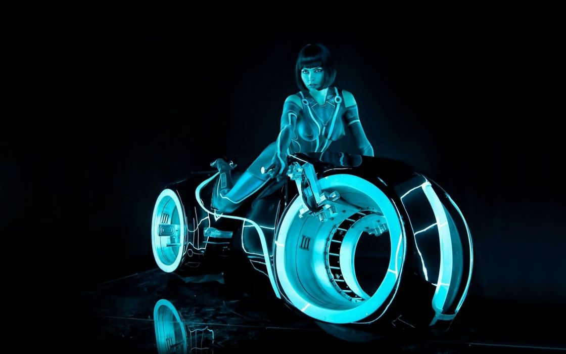TRON action adventure sci-fi futuristic disney wallpaper