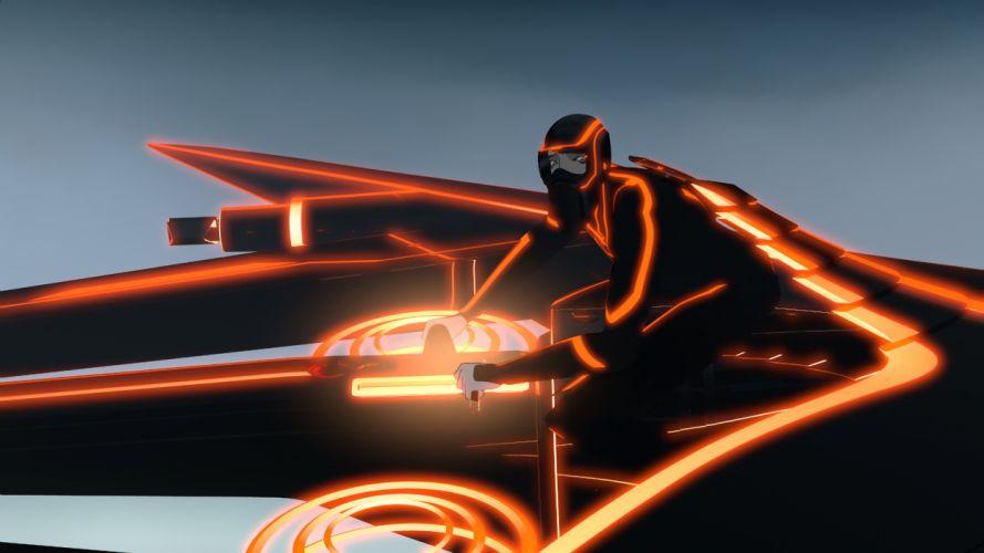 TRON action adventure sci-fi futuristic disney wallpaper
