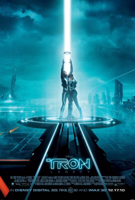 TRON action adventure sci-fi futuristic disney poster wallpaper