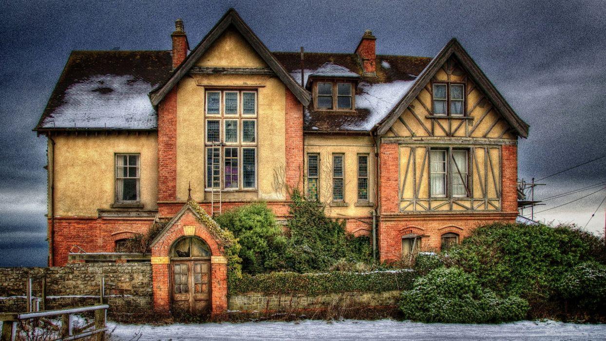 casa mansion britanica wallpaper