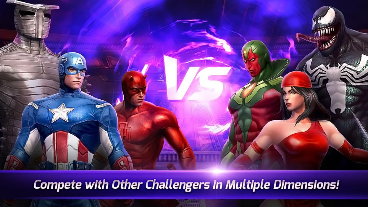 MARVEL FUTURE FIGHT action fighting arena superhero gero 1mff warrior poster wallpaper