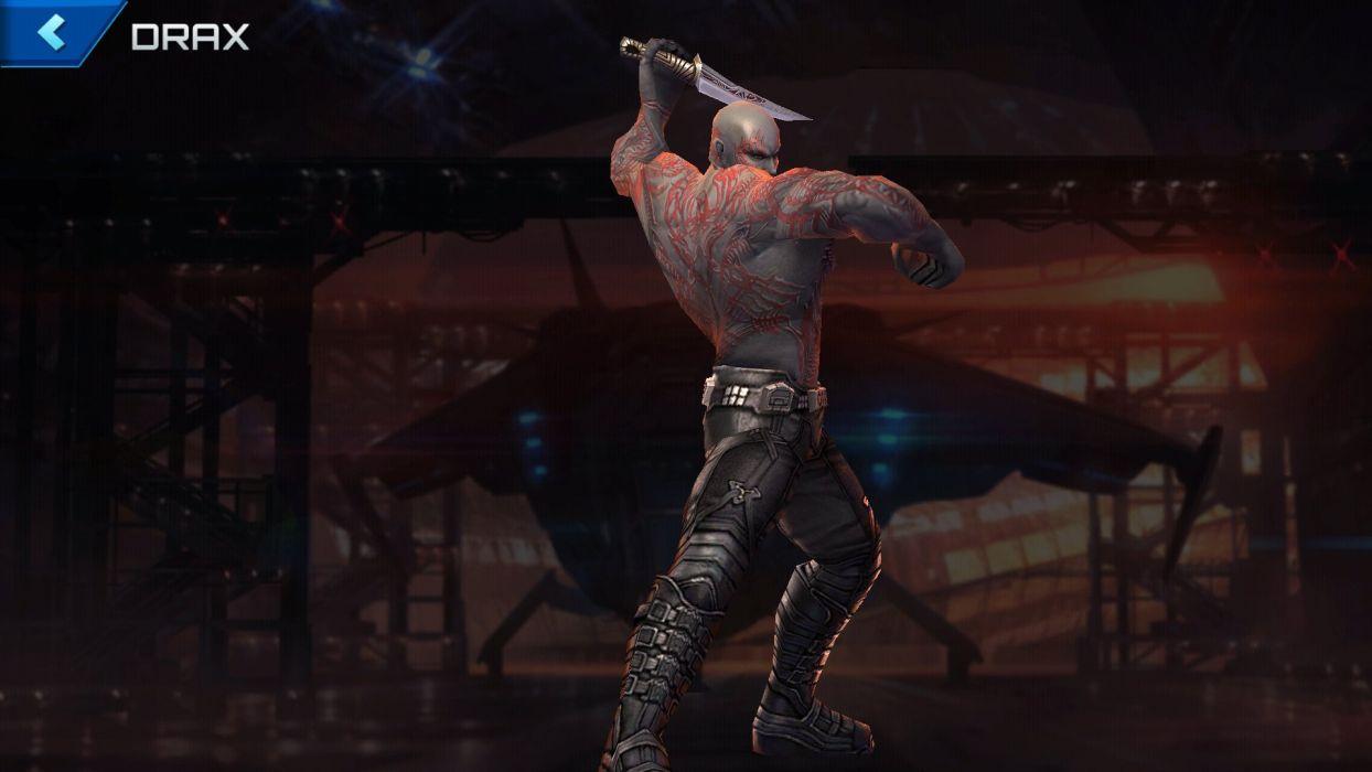MARVEL FUTURE FIGHT action fighting arena superhero gero 1mff warrior poster wallpaper