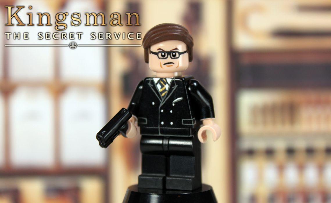 KINGSMAN-SECRET-SERVICE sci-fi action adventure comedy crime kingsman secret service poster lego wallpaper