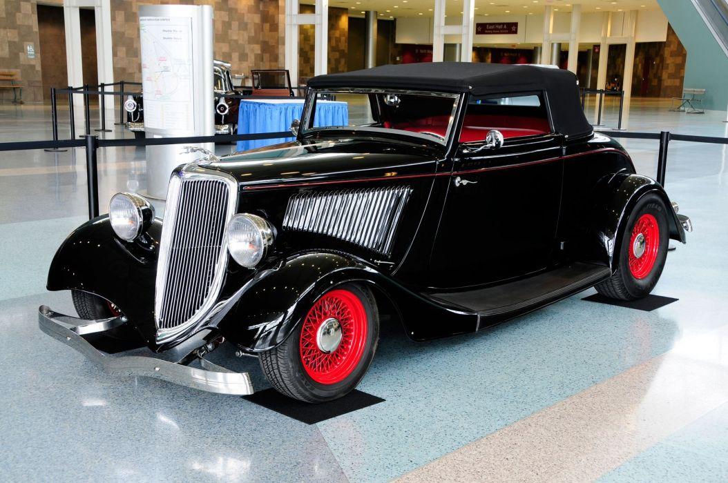 hot rod street cars classic show wallpaper