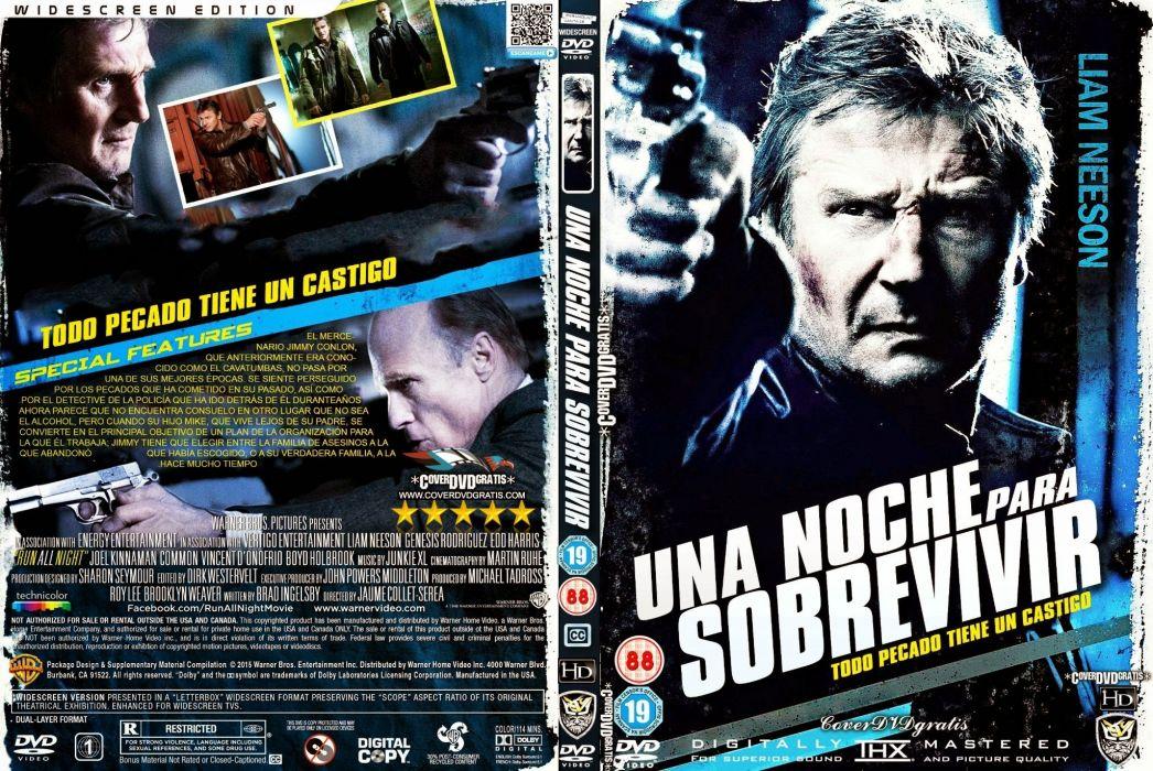 RUN ALL NIGHT action crime drama gangster mafia noir 1runan poster wallpaper