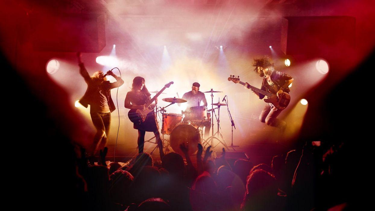 ROCK BAND 4 music simulator rhythm hard heavy metal 1rb4 concert wallpaper