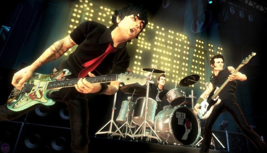 ROCK BAND 4 music simulator rhythm hard heavy metal 1rb4 concert green day wallpaper