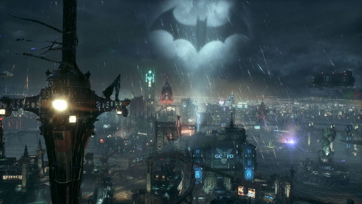 BATMAN ARKHAM KNIGHT superhero dark action adventure fighting batman hero shooter warrior wallpaper