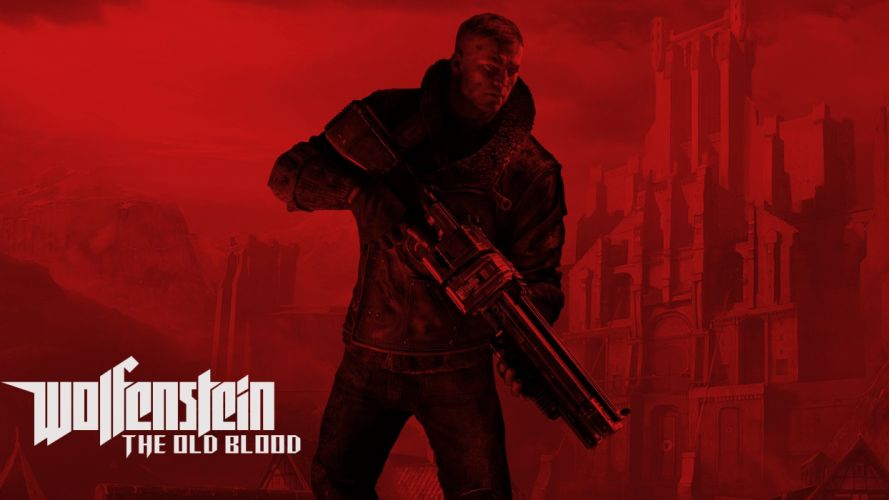 WOLFENSTEIN OLD BLOOD action adventure fps shooter fighting nazi war 1wob poster wallpaper