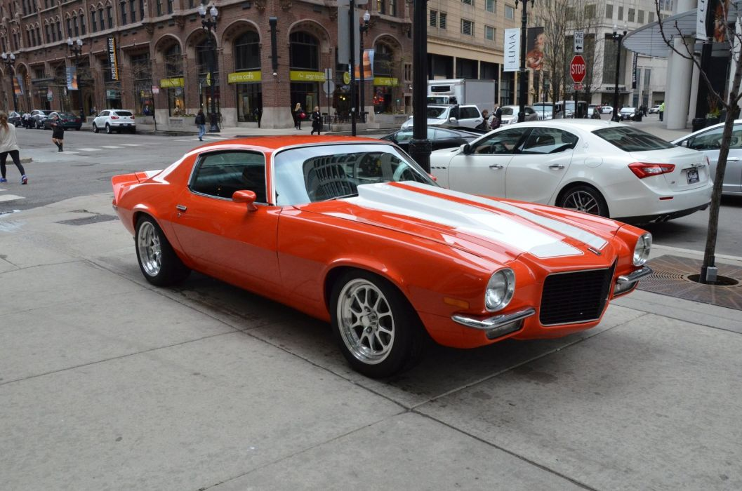 1973 Chevrolet Camaro coupe cars wallpaper