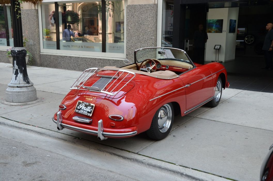 1959 Porsche 356-A 1600 Super convertible cars classic wallpaper