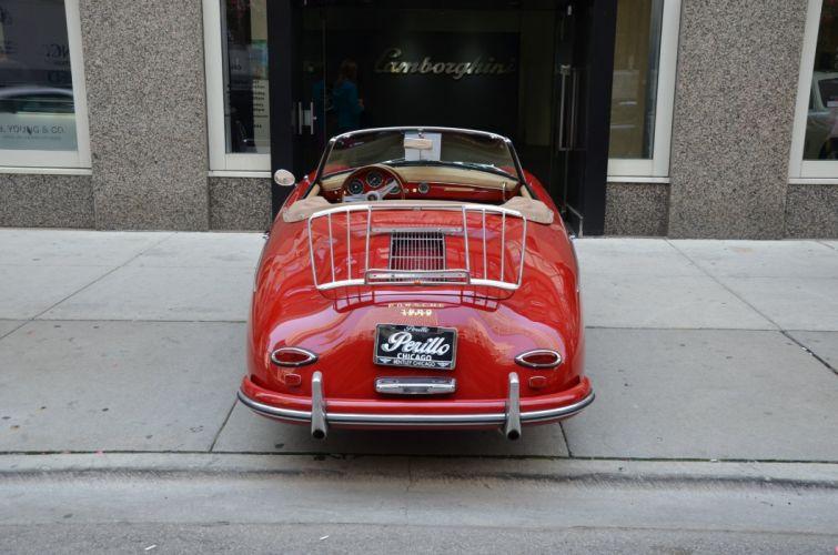 1959 Porsche 356-A 1600 Super convertible cars classic wallpaper