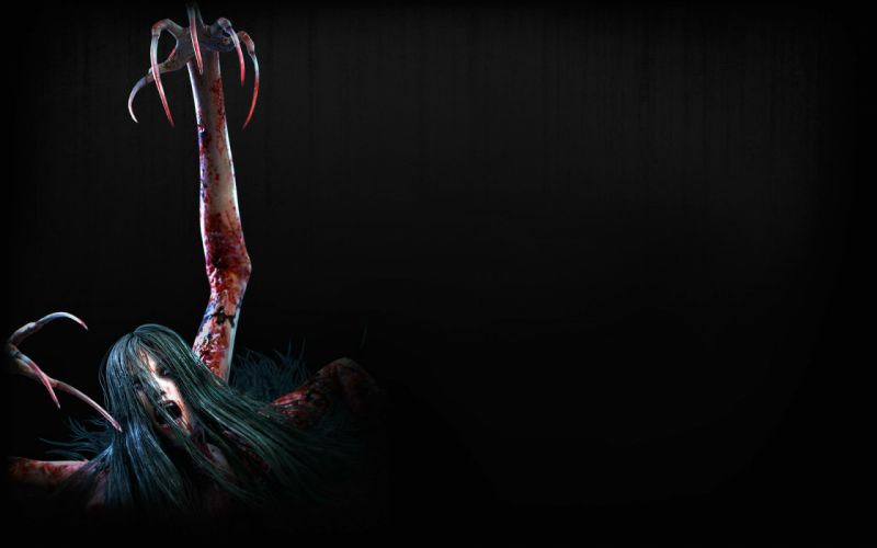 EVIL WITHIN survival horror action fighting 1ewith dark zombie monster blood demon wallpaper
