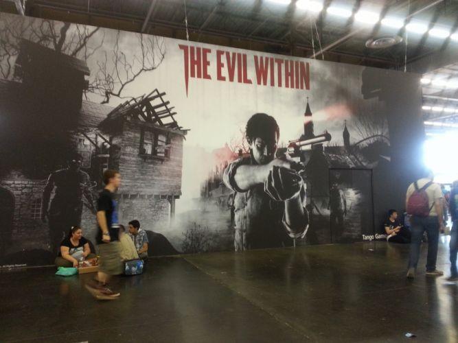 EVIL WITHIN survival horror action fighting 1ewith dark artwork graffiti wallpaper