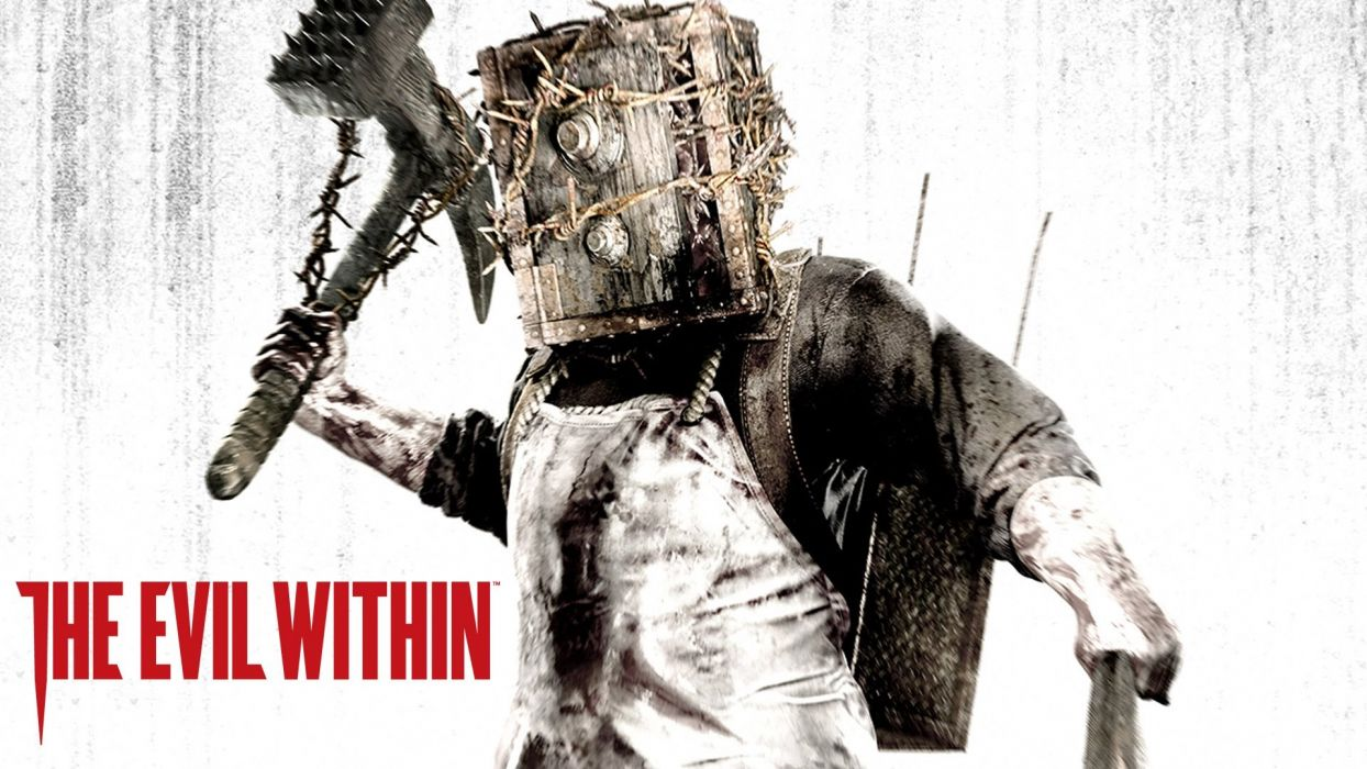 EVIL WITHIN survival horror action fighting 1ewith dark zombie monster poster wallpaper