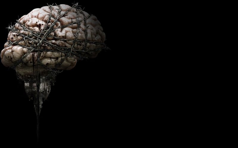 EVIL WITHIN survival horror action fighting 1ewith dark brain blood wallpaper