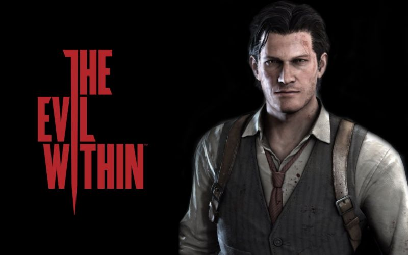 EVIL WITHIN survival horror action fighting 1ewith dark poster wallpaper