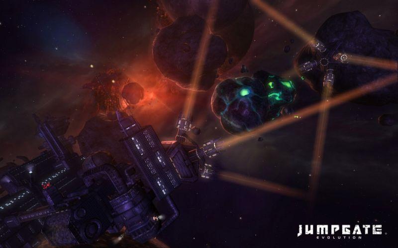 JUMPGATE sci-fi evolution futuristic space spaceship 1jge mmo online action stargate poster wallpaper