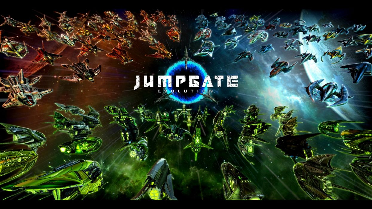 JUMPGATE sci-fi evolution futuristic space spaceship 1jge mmo online action stargate poster wallpaper