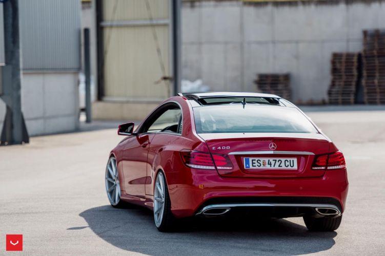 vossen wheels mercedes e-class coupe cars wallpaper