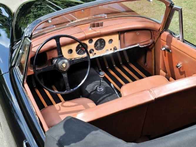 1958 Jaguar XK150 Drophead Coupe cars classic wallpaper