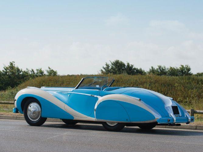 1948 Talbot-Lago T26 Grand Sport Cabriolet Saoutchik cars classic wallpaper