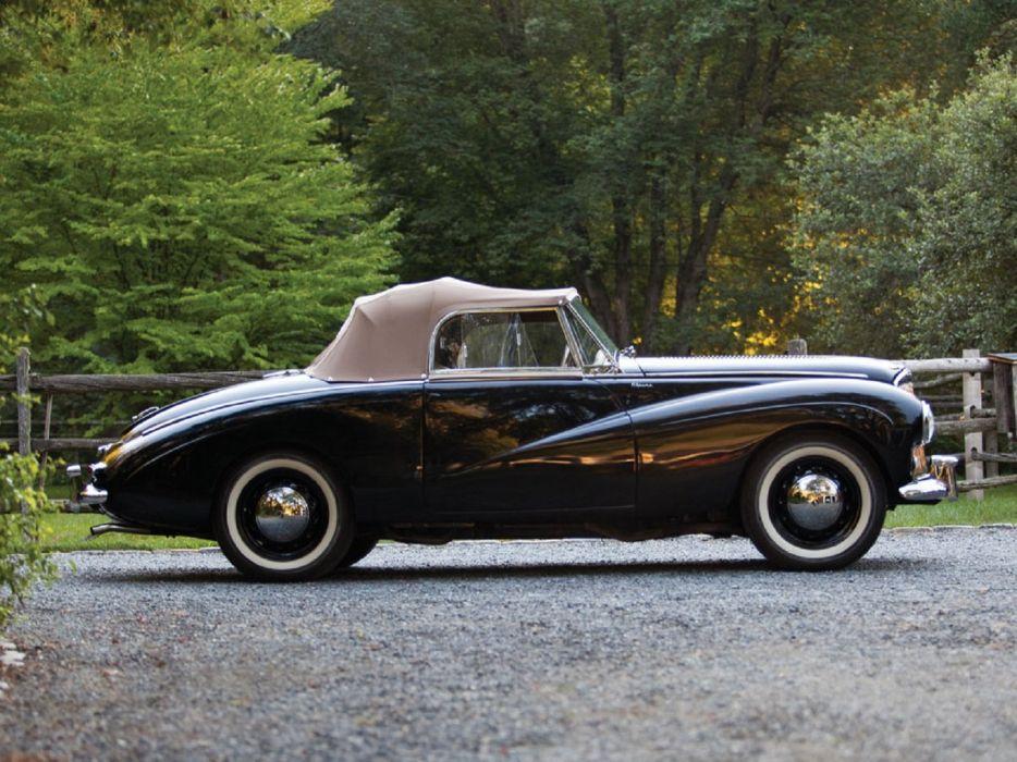 1954 Sunbeam-Talbot Alpine convertible cars convertible wallpaper